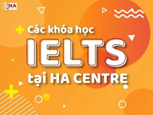 Các khóa học IELTS tại Bắc Ninh của HA Centre