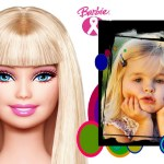 Fotomontaje de Barbie