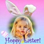 Fotomontaje de Conejito para Pascuas