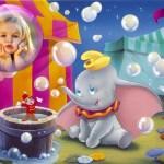 Fotomontaje infantil de Dumbo gratis