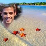 Fotomontaje de playa online