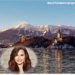 Fotomontaje de paisaje gratis