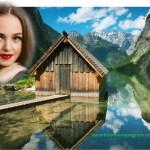 Fotomontaje de Casa en Lago