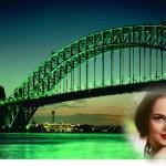 Fotomontaje de puente en Sidney