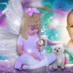 Hacer fotomontaje con angelito