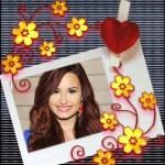 Fotomontaje de corazon sosteniendo foto