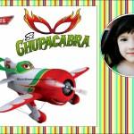 """Fotomontaje de Aviones con """"El Chupacabra"""""""