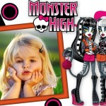 Fotomontaje infantil de Monster High