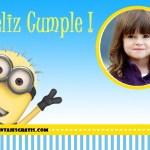 Fotomontaje de Minion para Cumpleaños