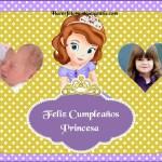 Fotomontaje de Cumpleaños con Sofía la Princesa