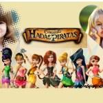 Fotomontaje de Disney Hadas y Piratas