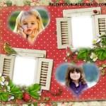 Fotomontaje para aplicar dos fotos