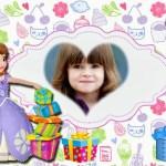 Fotomontaje de Cumpleaños con Princesita Sofía