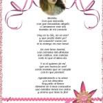 Fotomontaje con Poema para  Mamá