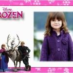 Fotomontaje de Frozen gratis