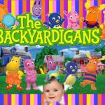 Fotomontaje para bebés de Backyardigans