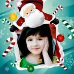 Marco de Navidad para fotos