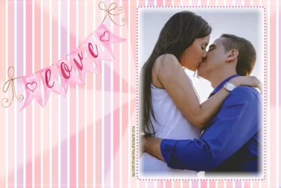 Fotomontajes de amor gratis