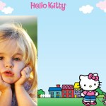 Fotomontaje de Hello Kitty