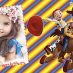 Fotomontaje de Toy Story con Jessy y Woody