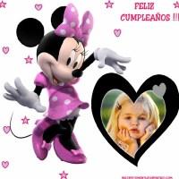 Fotomontaje de Cumpleaños con Minnie