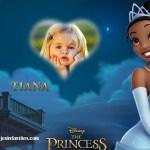 Fotomontaje de Princesa Tiana