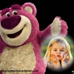 Fotomontaje del Oso Lotso Toy Story 3