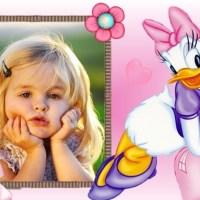 Fotomontaje infantil de Daisy
