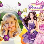 Fotomontaje de Barbie Princess & Popstar