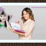 Fotomontaje con Violetta de Disney
