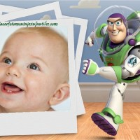 Fotomontaje de Buzz Lightyear