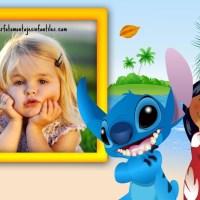 Fotomontaje de Lilo y Stitch