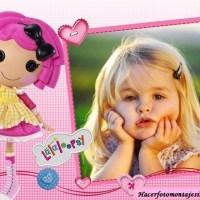 Fotomontaje infantil de Lala Loopsy