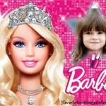 Fotomontaje infantil de Barbie