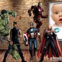 Fotomontaje gratis de Avengers