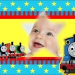 Fotomontaje de Thomas y sus amigos