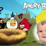 Fotomontaje gratis de Angry Birds