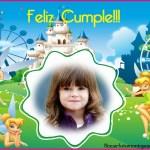 Fotomontaje de Cumpleaños con Tinkerbell