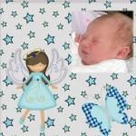Fotomontaje de angelito para bebés