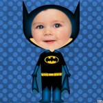 Fotomontaje de Superhéroe Batman