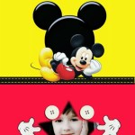 Hermoso fotomontaje de Mickey para crear gratis