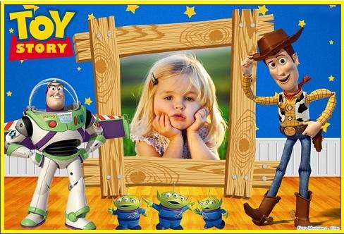 marcos infantiles de toy story con Foto