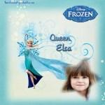 Fotomontaje gratis de Elsa -Frozen-
