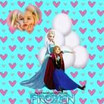 Fotomontaje de Elsa y Anna gratis