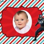 Fotomontaje de Capitán América