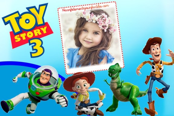 toy story fotomontajes - toy story marcos infantiles - toy story photo frame