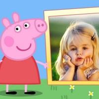 Fotomontaje de Peppa Pig para crear gratis