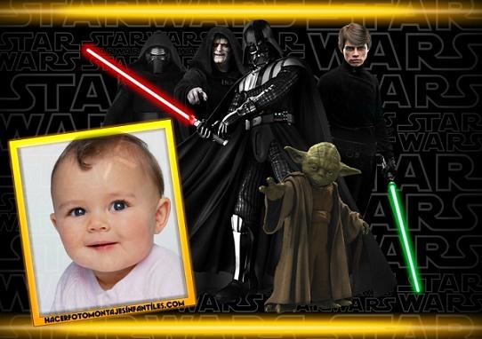 Fotomontajes de Star Wars 7 - Marcos de Star Wars 7 para fotos - Editar fotos Star Wars 7