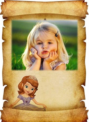 Marcos para fotos Princesa Sofia - Fotomontajes de Princesa Sofia
