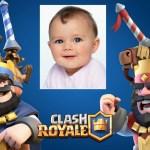 Fotomontajes de Clash Royale